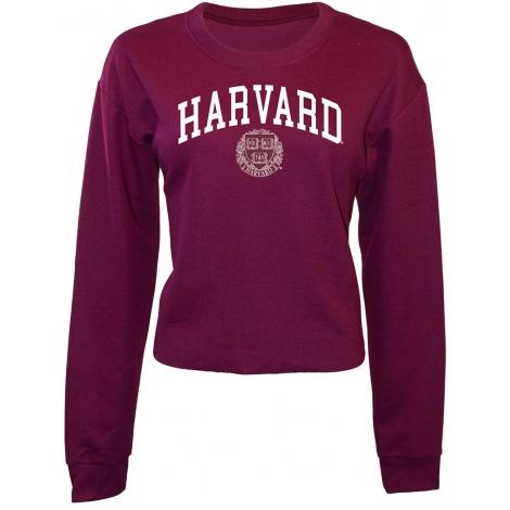 Harvard Women's Caitlin Crop Sweatshirt