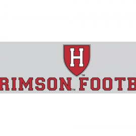 Harvard Crimson Football Decal