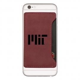 MIT Velour Cell Phone Card Holder
