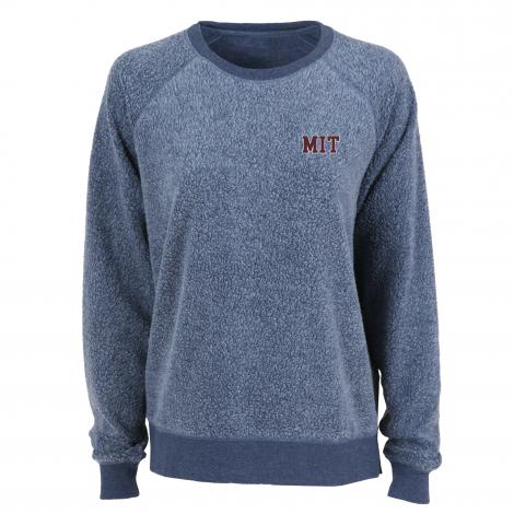 MIT Women's Fleece Out Crew Neck Pullover