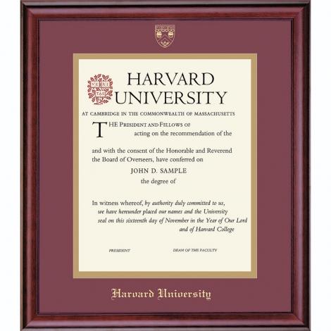 Harvard Extension School Graduate/Undergraduate Frame