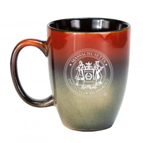 MIT Laser Etched 15 oz Handcrafted Glazed Mug