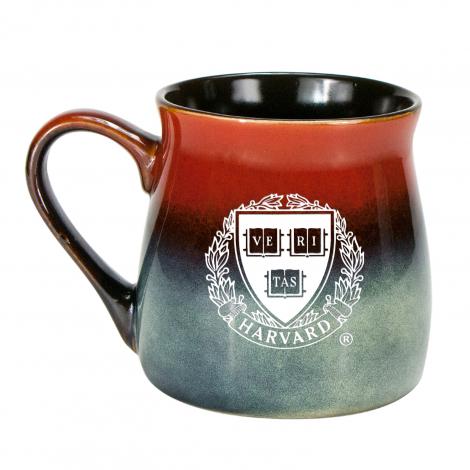 Harvard Laser Etched 16 oz Rustic Tavern Mug