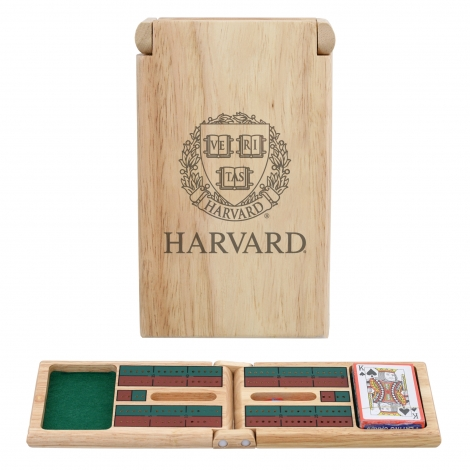Harvard Travel Cribbage Set