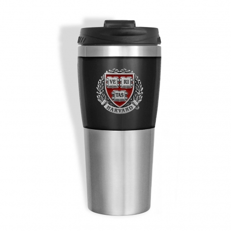 Harvard Two Color Pewter Seal Tumbler