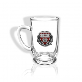 Harvard Bolero Glass Coffee Mug