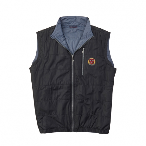 Harvard Men's Quilted Reversible Vest