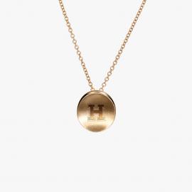 Harvard Kyle Cavan Block H Necklace