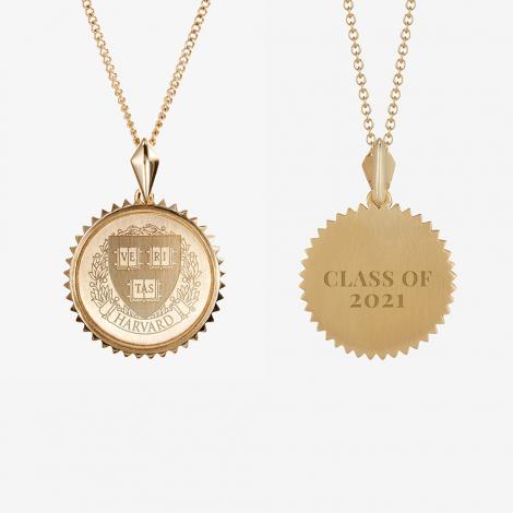 Harvard Class of 2021 Kyle Cavan Sunburst Necklace