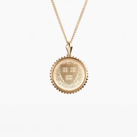 Harvard Kyle Cavan Sunburst Necklace