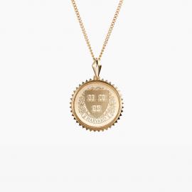 Harvard Kyle Cavan Sunburst Necklace
