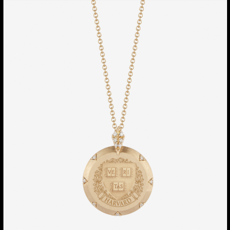 Harvard Kyle Cavan 7-Point Diamond Necklace