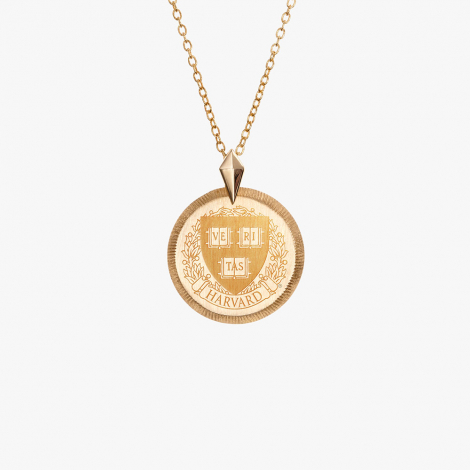 Harvard Kyle Cavan Petite Florentine Necklace