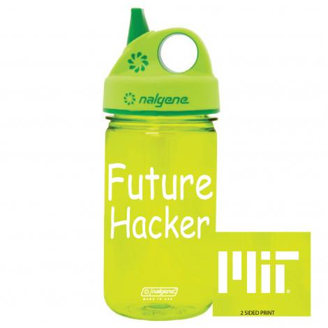 MIT Future Hacker Nalgene Grip 'n Gulp 12 oz Bottle