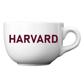 Harvard 24 oz Oversized Ceramic Coffee Mug