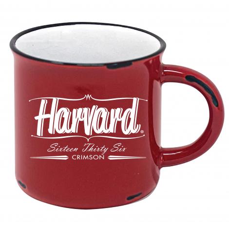 Harvard 15 oz Vintage Western Mug