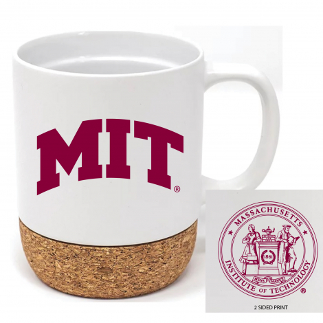 MIT 14 oz Matte Finish Ceramic Corky Mug