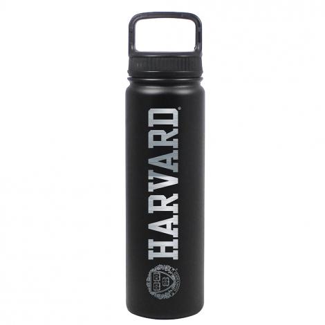 Harvard Laser Engraved 24oz Stainless Steel Water Bottle