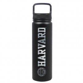 Harvard Laser Engraved 24oz Stainless Steel Water Bottle
