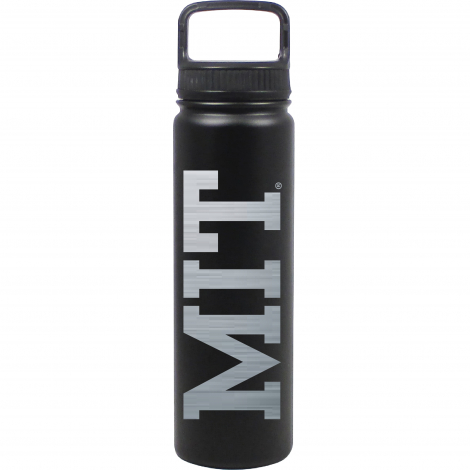 MIT Laser Engraved 24 oz Stainless Steel Water Bottle
