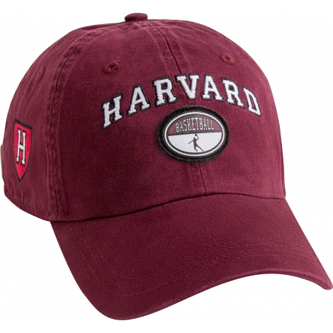 Harvard Maroon Basketball Hat