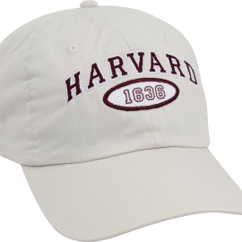 Harvard Newport Washed Twill Hat