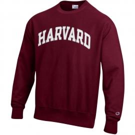 Reverse Weave Harvard Crew Sweatshirt