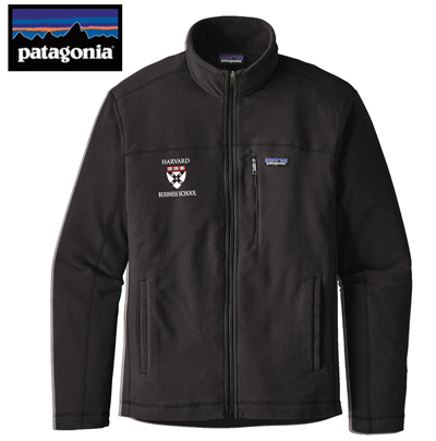Harvard Business School Men's Patagonia Micro D Fleece Jacket