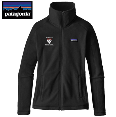 Harvard Business School Women's Patagonia Micro D Fleece Full Zip