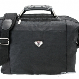 Harvard Business School Duffel Bag with Custom Medallions