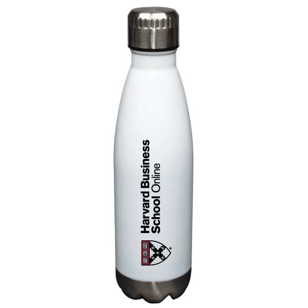 Online Business Schools >> Hbs Online Glacier Waterbottle