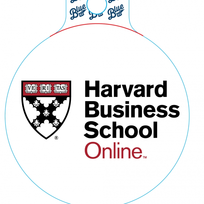 Online Business Schools >> Hbs Online Vinyl Sticker