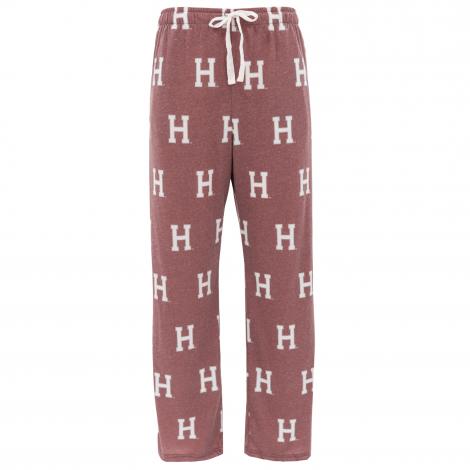 Harvard Block H Sublimated Cotton Jersey Pant