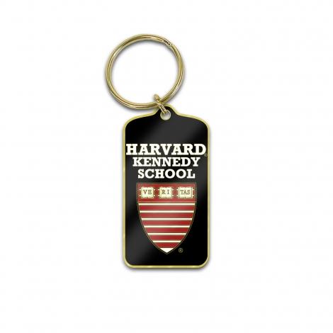 Harvard Kennedy School Brass Key Tag