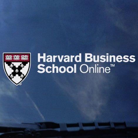 Harvard Business School Online Outside Decal