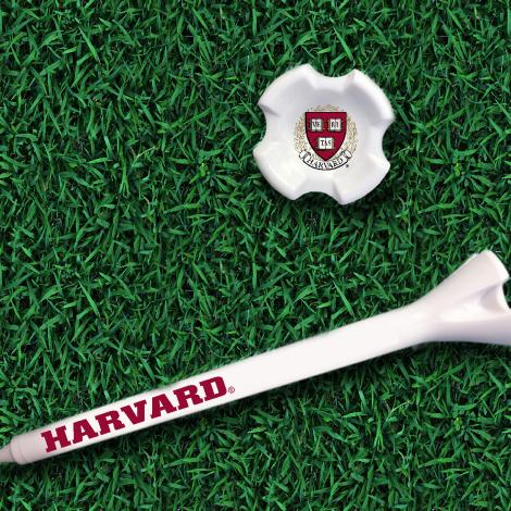 Harvard Seal Printed Golf Tees