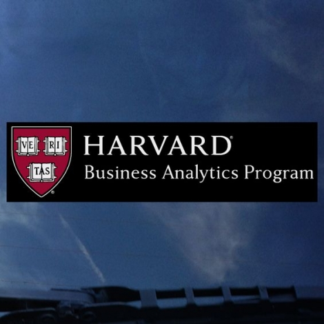 Harvard Business Analytics Program Outside Decal