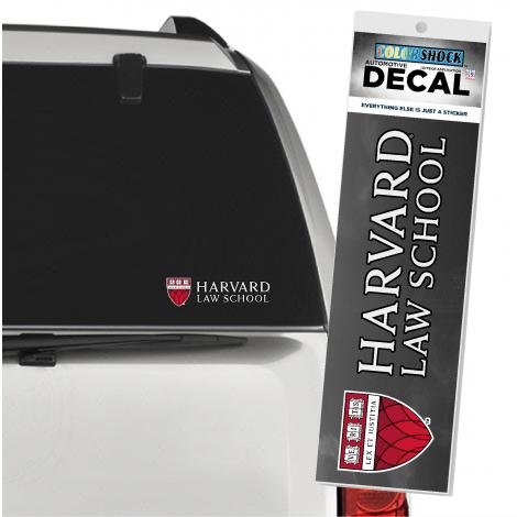 Harvard Law School Shield Outside Decal