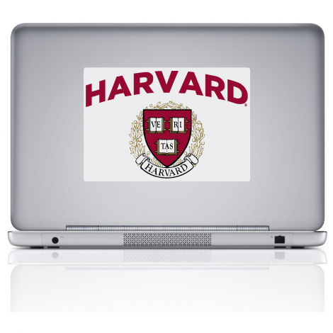 Harvard Removable Decal