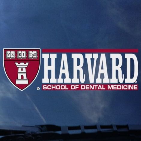Harvard School of Dental Medicine Outside Decal