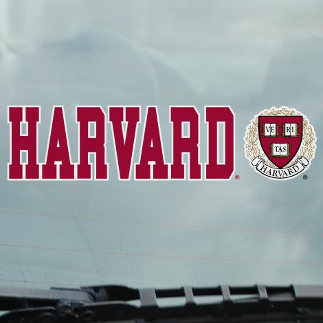 Harvard Seal Static Cling Decal