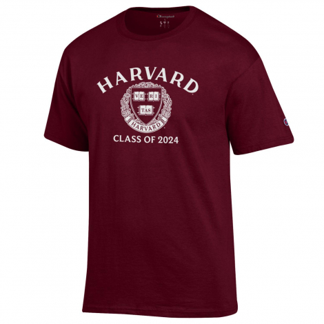 Harvard Champion Class of 2024 Tee Shirt
