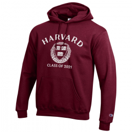 Harvard Class of 2021 Champion  Hooded Sweatshirt
