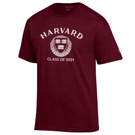 Harvard Champion Class of 2021 Tee Shirt