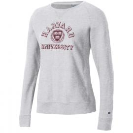 Harvard Women's Champion Reverse Weave Crew Neck Sweatshirt