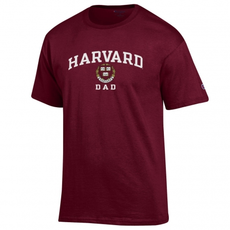 Harvard Dad Maroon Tee
