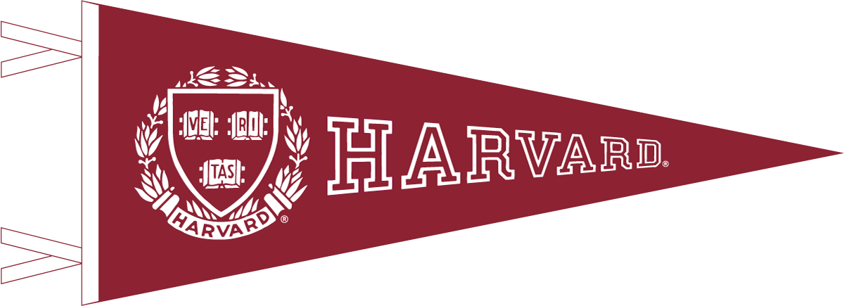Harvard Pennant with Seal