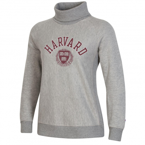 Harvard Women's Champion Reverse Weave Turtleneck