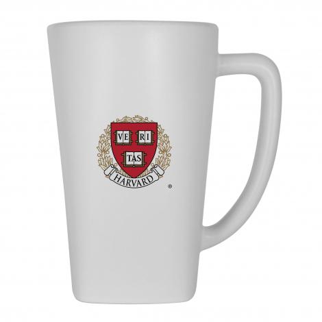 Harvard Matte Finish Ceramic Mug with Full Color Logo
