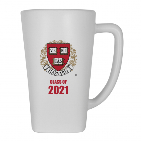 Harvard Class of 2021 White Matte Finish Ceramic Mug
